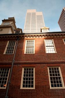 旧マサチューセッツ州ボストンの旧市街