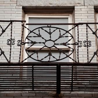 米国マサチューセッツ州ボストンの装飾レール
