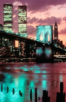 ツインタワーズ、世界貿易センター、ニューヨーク