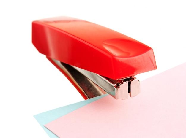 Красный степлер