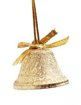 分離されたクリスマスゴールドベル