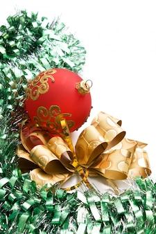 Рождественские украшения изолированы