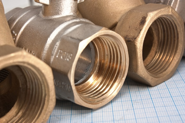 Водозаборный клапан на миллиметровке