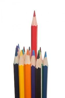 Цветные карандаши изолированные