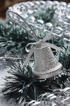 クリスマスの背景にクリスマスの鐘