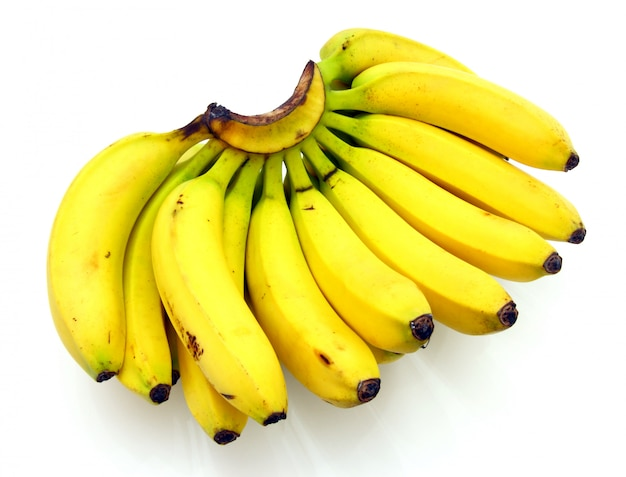 Изолированные бананы