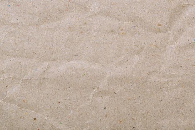 古いリサイクル茶色の紙のテクスチャ背景