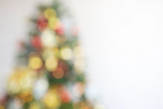 抽象的な、ぼんやりとした、クリスマス、光景、コピー、背景、背景
