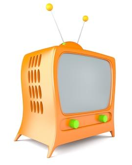 Телевизор в мультяшном стиле