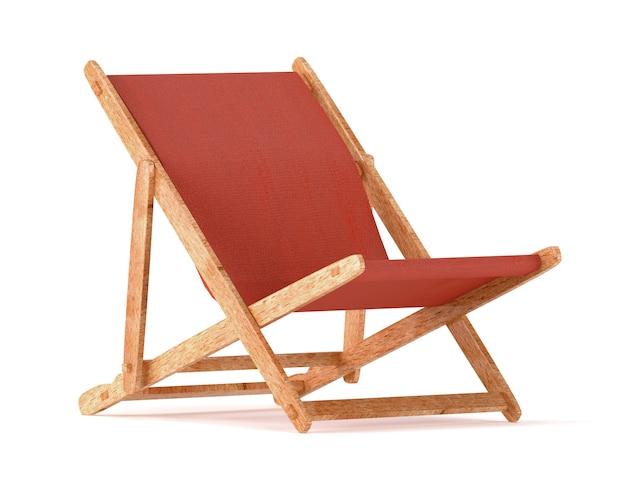 白で隔離される木製長椅子