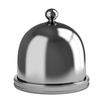 Металлический купол на белом