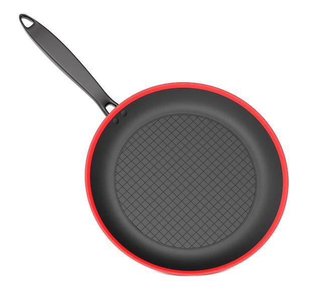 Сковорода на белом фоне