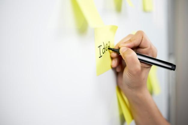Планирование запуска. творческая команда работает над стратегией