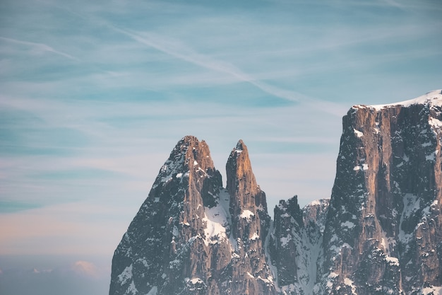 美しい山の風景