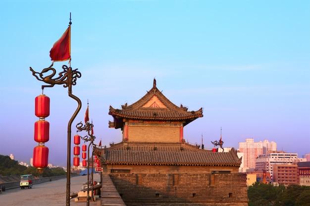 西安市の壁、中国