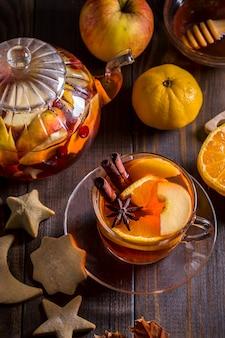 Изображение с фруктовым чаем.