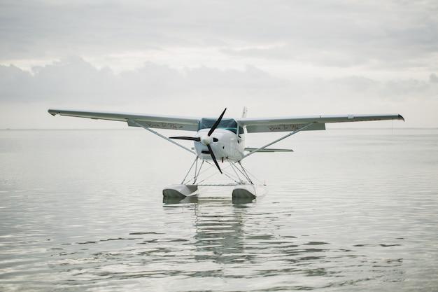 水上飛行機。モーリシャス