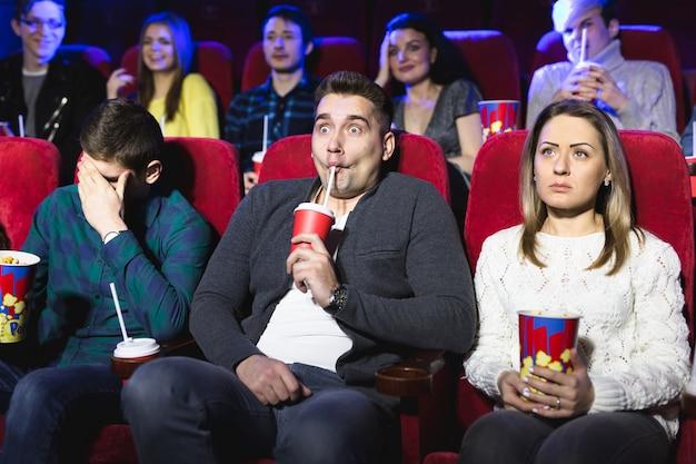 Молодые страшно пара в кино, смотреть фильм ужасов