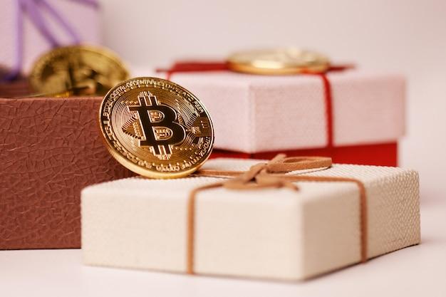パッケージのギフトビットコイン