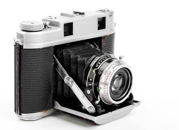 Старый механический фотоаппарат