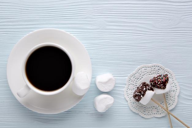 Кофе с зефиром.