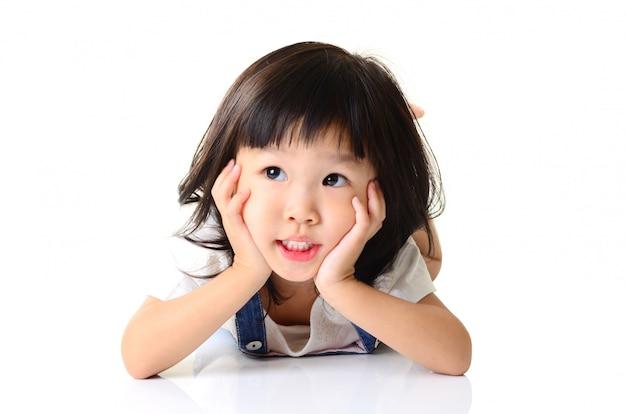 アジアの小さな女の子
