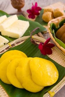 Ма лай гоу - традиционный торт на пару из малайзии.