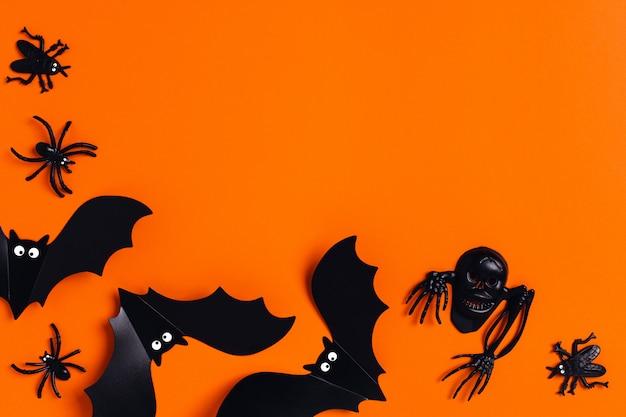 Праздничная открытка, хэллоуин ужас.