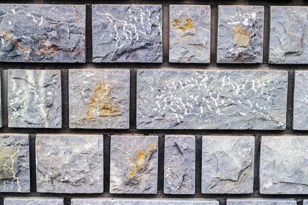 Бесшовные текстуры каменной кладки в разные цвета