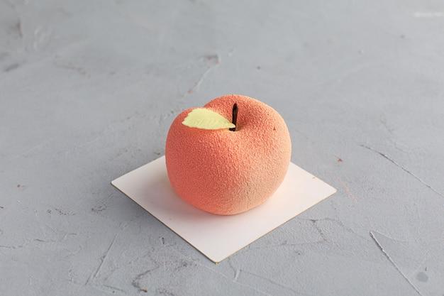 Торт в форме яблока. мини торт.