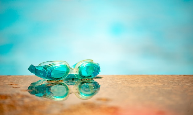 Водонепроницаемые детские плавательные очки