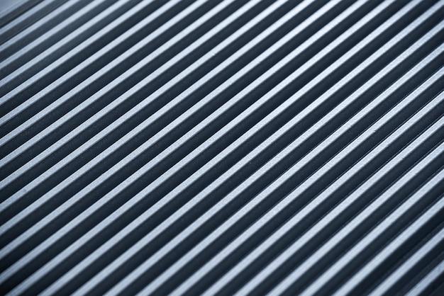 段ボールの金属表面の拡大図