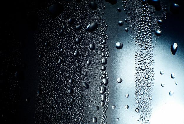ガラスに水滴