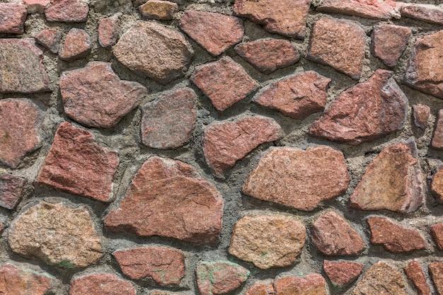 Серая каменная стена