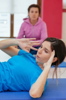 Фитнес-класс для женщин