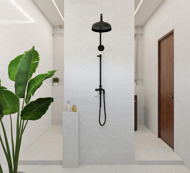 モダンで豪華なバスルームのデザイン