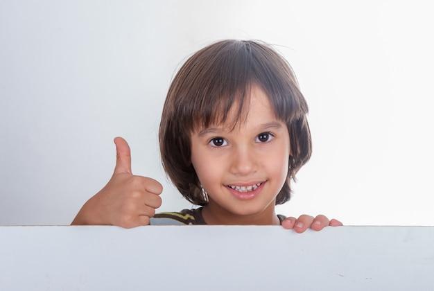Портрет модели мальчика