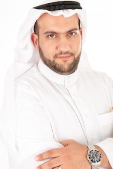 Счастливый мусульманин арабский