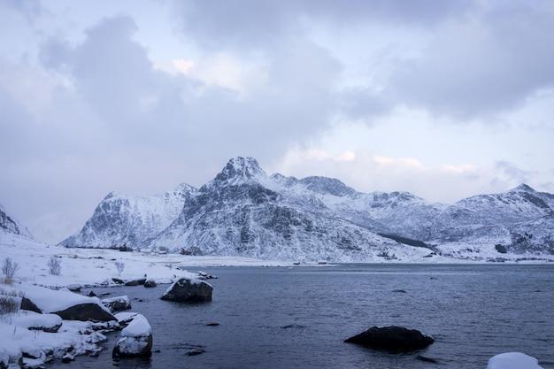 Красивая нетронутая природа в северной скандинавии