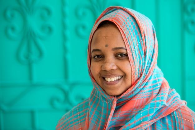 アフリカのイスラム教徒の女