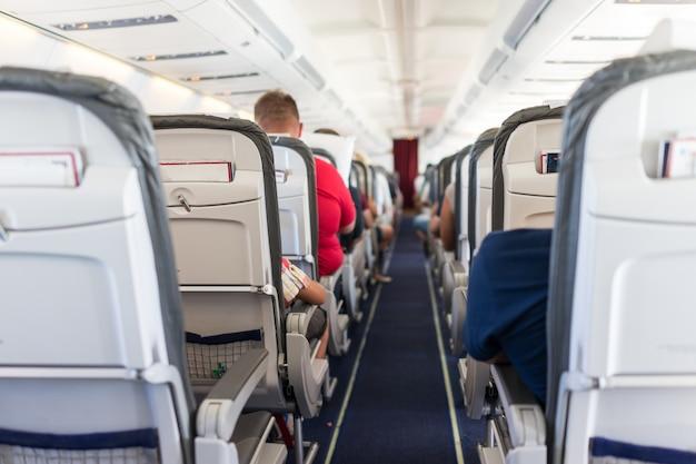 航空機の内部