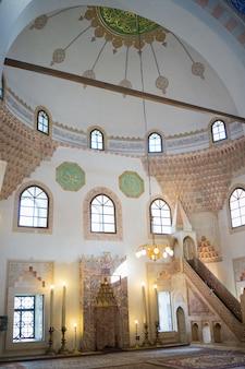 モスクのインテリア