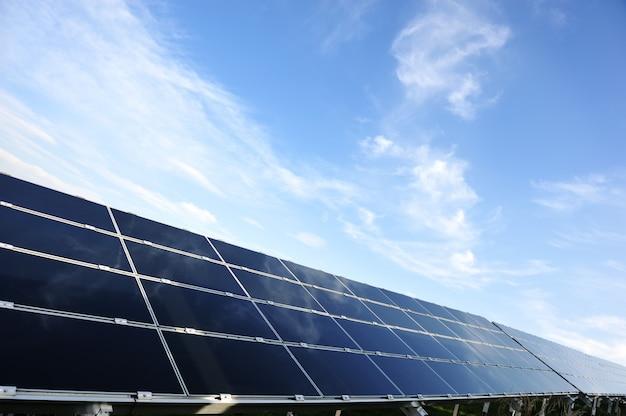 Фотоэлектрические солнечные панели с копией