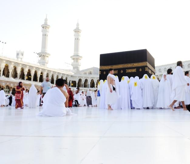 マッカ・カーバ・ハジ・ムスリム