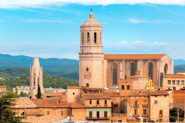 Собор святой марии в жироне, каталония, испания