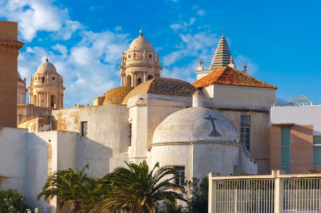 Собор в кадисе, андалусия, испания