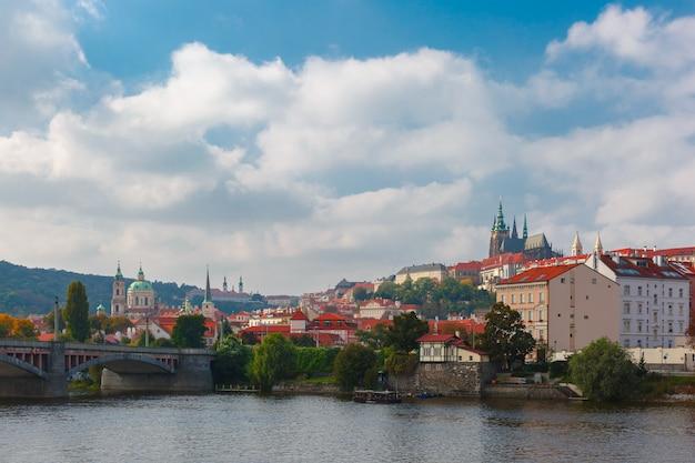 Пражский град и маленький квартал, чешская республика