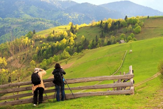 カルパティア山脈の風景写真