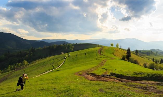 カルパティア山脈、ミジヒリアの風景写真
