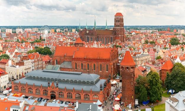Церковь святой марии в гданьске, польша